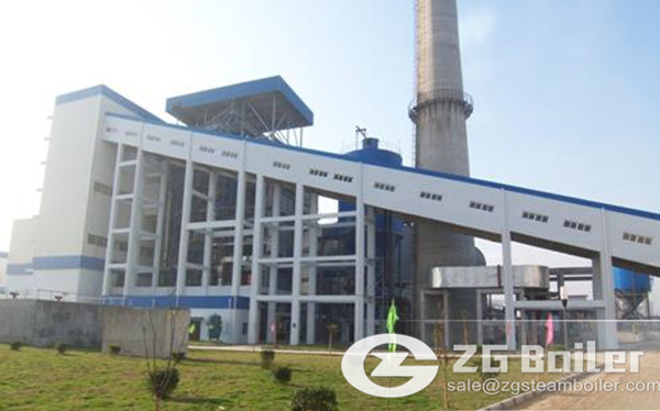 Circulating fluidized bed boiler low nitrogen combustion technology