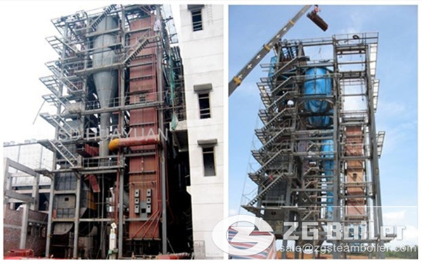 What are the 30 ton circulating fluidized bed boiler fuel