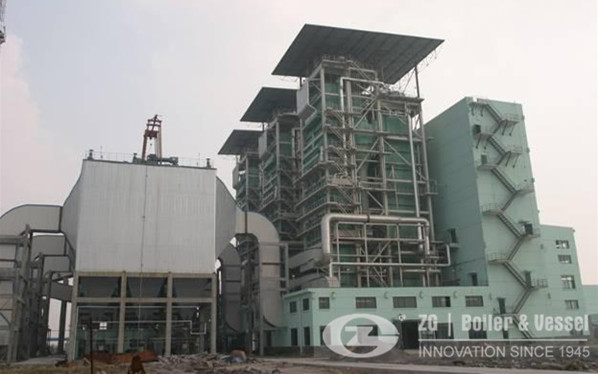 CFBC boiler for thermal power plant image