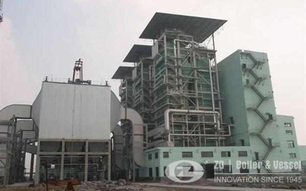 CFBC boiler for thermal power plant