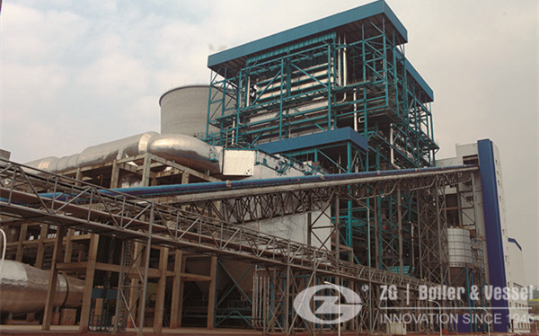 10 ton gas circulating fluidized bed boiler in Indonesia