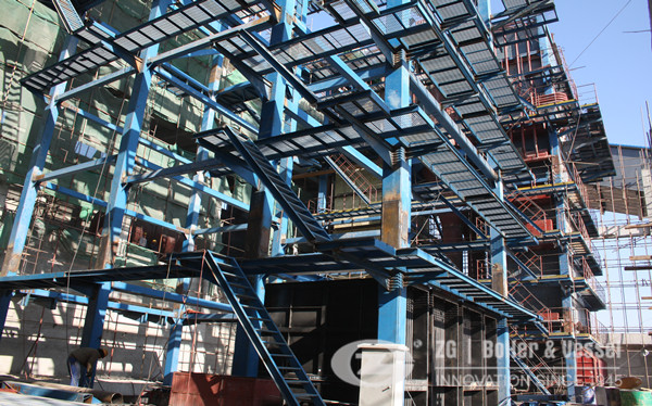 China CFBB circulating fluidized bed boiler development image