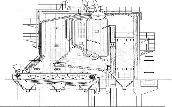 cfbb coal fired boiler diagram