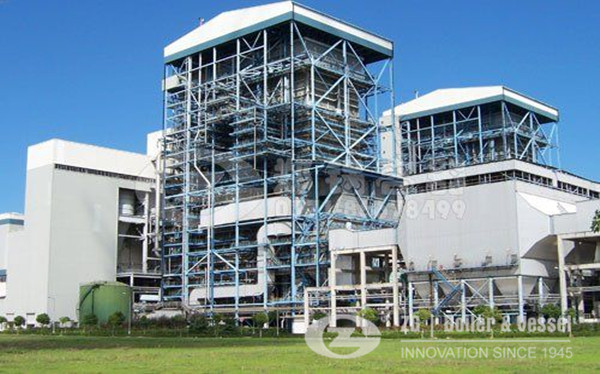 Rice husk CFB boiler power plant manufacturers image