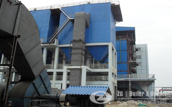 Low pressure small capacity of biomass CFB boilers manufacturer image
