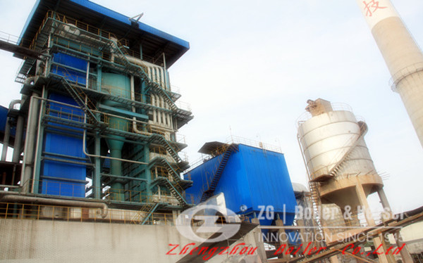 Biomass Combustion in 58 MW Circulating Fluidized-Bed Boiler image