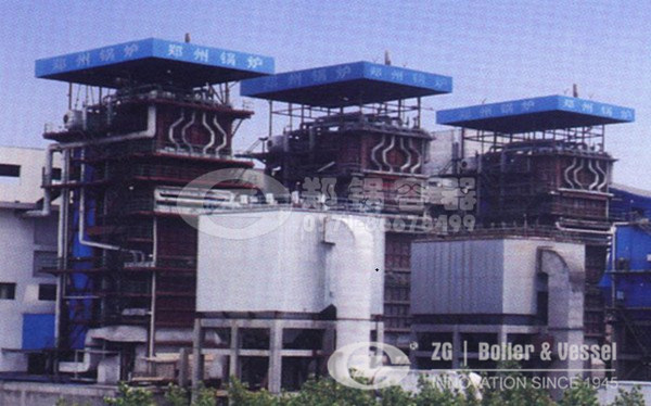 large scale CFB boilers