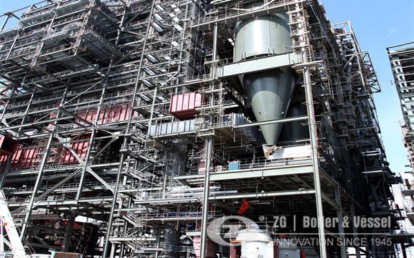 Fuel flexible utility scale CFB boiler development image