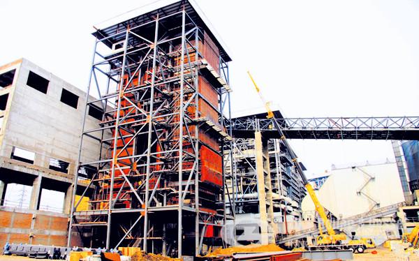 China cfb boiler development