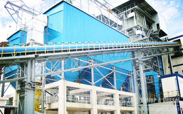Vietnam Biomass CFB Boiler in Sugarcane Mill image