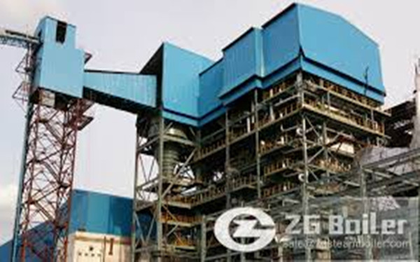 Coal and Biomass Fired CFB Circulation Fluidized Bed Boiler image