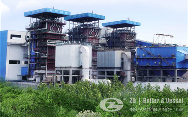 Clean Coal Technology Coal fired steam boiler image