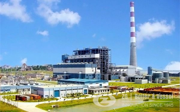 Co-Generation Power Plant Coal Fired CFBC boiler image