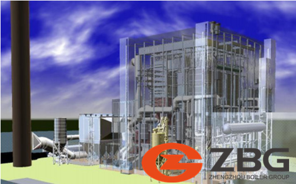Large scale CHP with CFB technology image