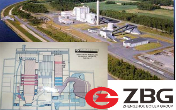Biomass CFB Boiler Supplier in Colombia