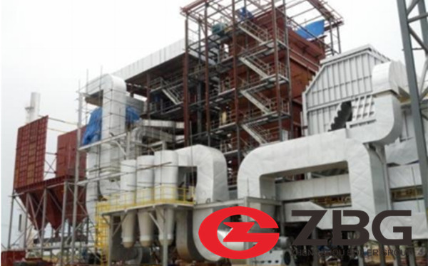 Coal Fired Water Tube CFBC Boiler With 65 t/h Capacity image