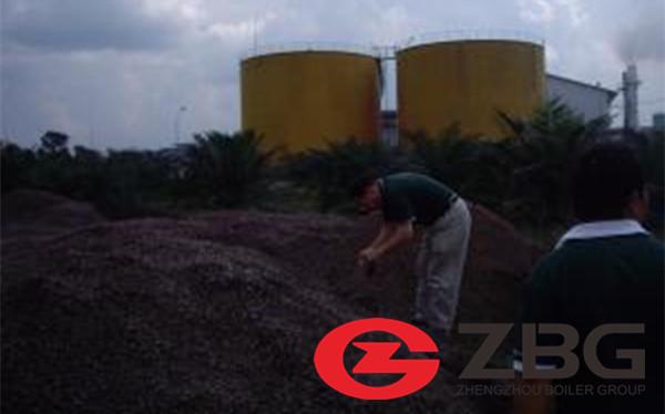 200 tph 105 bar cfb boiler fire 100% palm kernel shell in Thailand