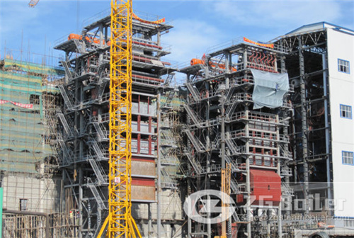 CFB boiler in China