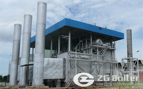 Waste Heat power plant Boiler.jpg