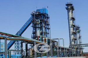 Circulating fluidized bed coal fired boiler
