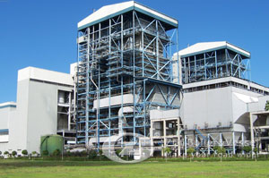 Circulating fluidized bed (CFB) boilers