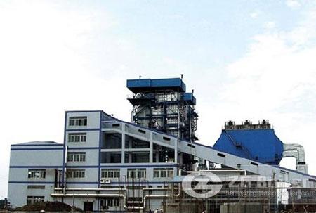 Coal fired CFB boiler images