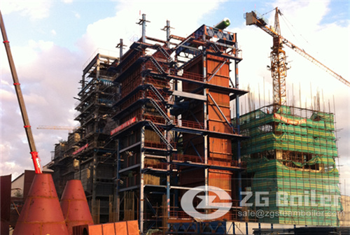 Power plant boiler images