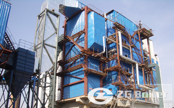 35 ton coal fired circulating fluidized bed boiler for textile plant in India