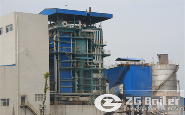 Energy-saving circulating fluidized bed boiler in Singapore