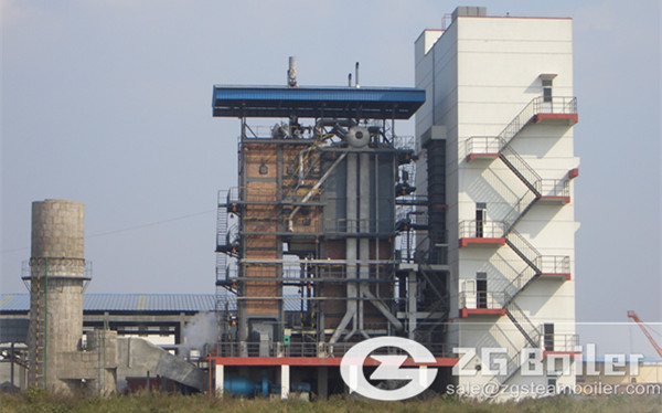 260 t/h High Pressure CFB Boiler in Indonesia