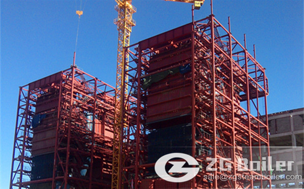 280 ton CFB boiler for Metallurgical Plant in China image