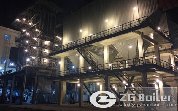 40 ton CFB boiler manufacturer in China image