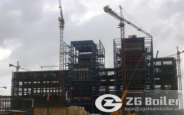 170 ton CFB Boiler for Alumina Plant in Vietnam image