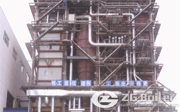 30 ton CFB boiler manufacturer in china exported to Mexico image