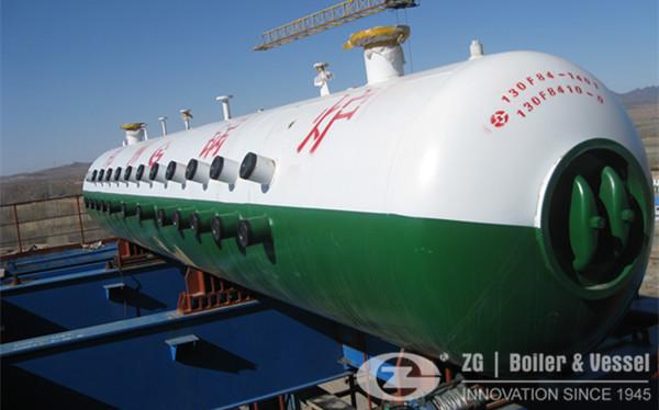 130 ton CFB boiler for central heating in Inner Mongolia (2)