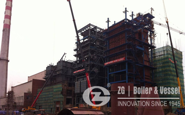 116MW CFB boiler for heat and power plant image