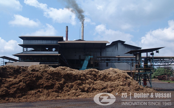 10MW Biomass CFB Power Plant Boiler in Bangladesh image