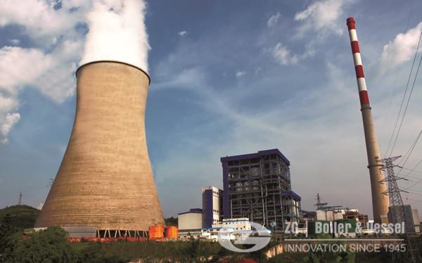 35MW power plant coal fuel CFB boiler in Korea.jpg