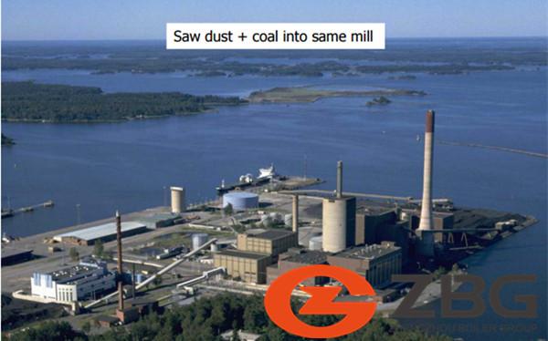 Co-firing CFB power plant boiler in Finland