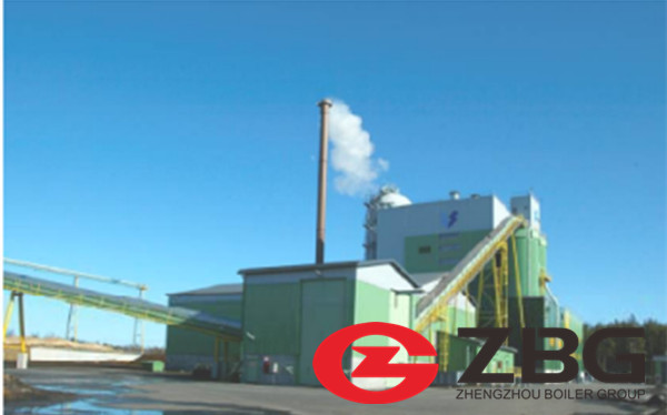 Biomass Fired CFB Boiler in Spain Paper Mill image