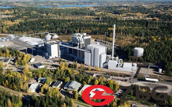 Biomass Fired CFB Steam Boiler in Chile.jpg