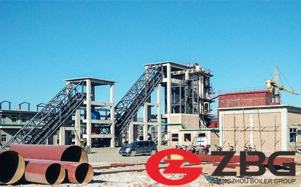 1MW Biomass Fired CFB Boiler in Cameroon