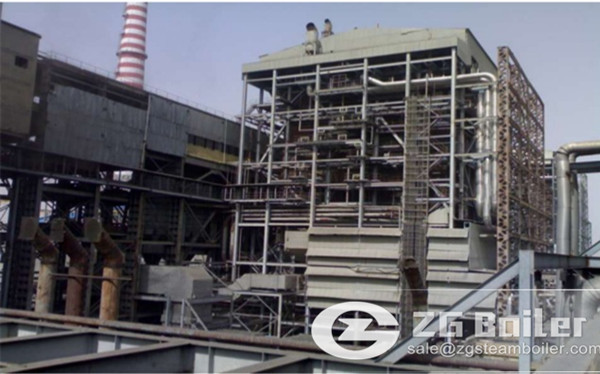 150 tons CFB power plant boiler in chemical industry image
