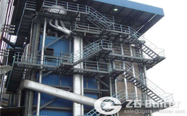 110 ton coal fired CFB boiler image