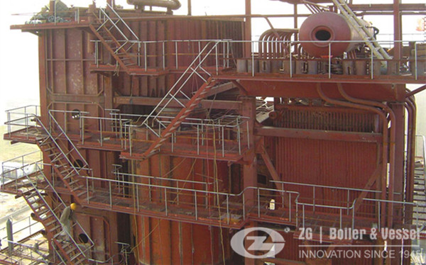 15t/h Tobacco stalk biomass CFB boiler image
