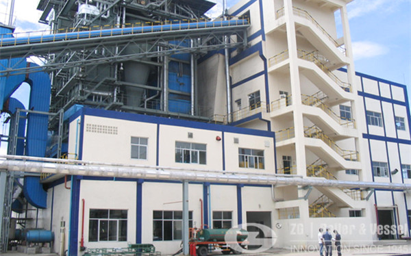 10 Ton Circulating Fluidized Bed(CFB) Boiler image
