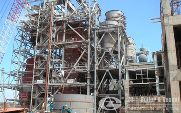 80 ton Circulating Fluidized Bed Steam Boiler image