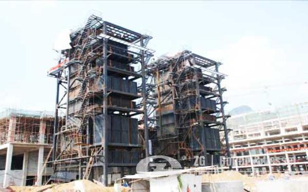 35TPH CFB power plant boiler image