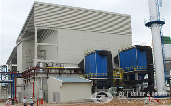 New Condition CFB boiler for textile industry image