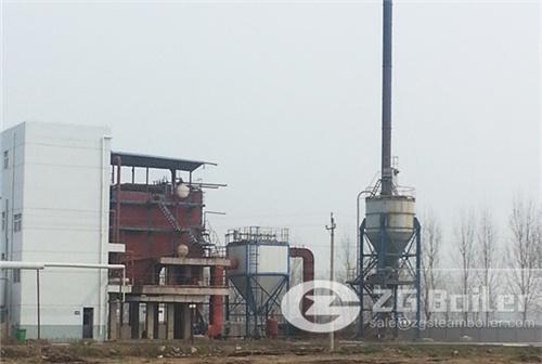 Rice husk firing power generation boiler plant